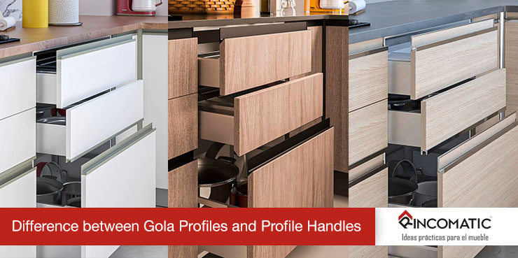 Difference Between Gola Profiles And Profile Handles For Kitchens