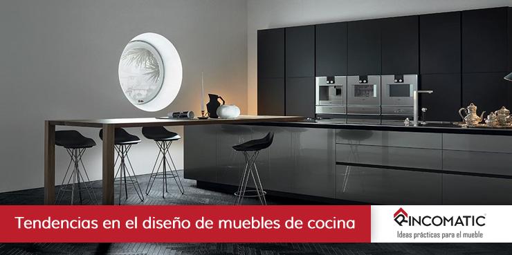 Nuevas tendencias en diseño de muebles de cocina 2.019 | Rincomatic.