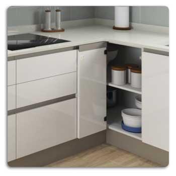 Compact32 - Bisagra rinconera para muebles de cocina | Rincomatic ®
